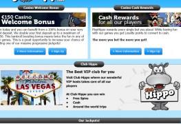 PlayHippo Casino MCPcom bonus
