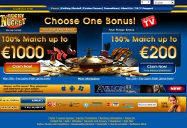 Lucky Nugget Casino MCPcom home