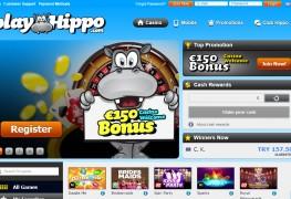 PlayHippo Casino MCPcom home