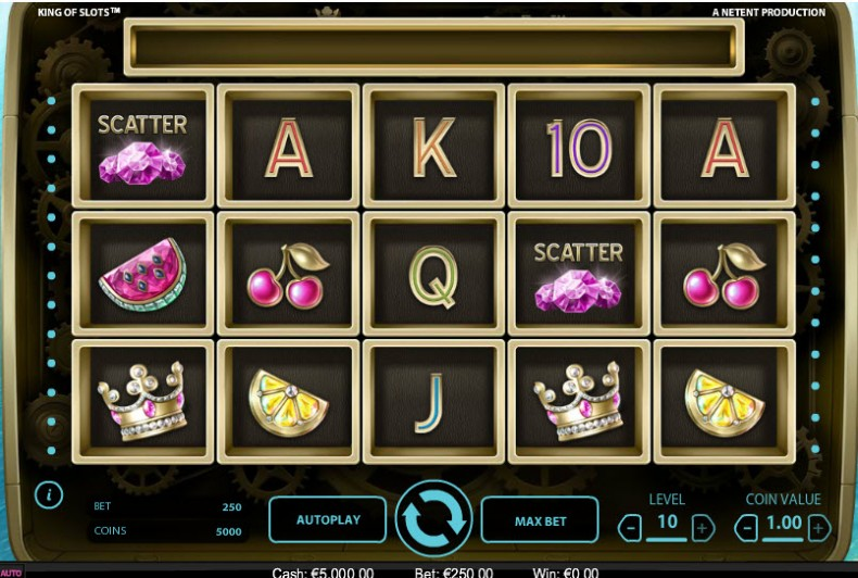 King Of Slots Netent MCPcom