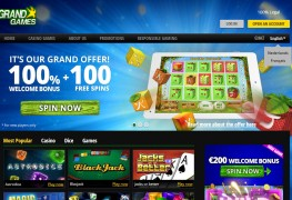 GrandGames Casino MCPcom home