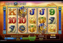 King Of Time Video Slots by GameArt MCPcom