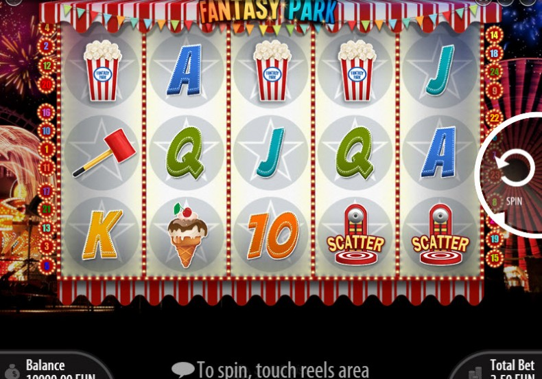 Fantasy Park Video Slots by SoftSwiss MCPcom