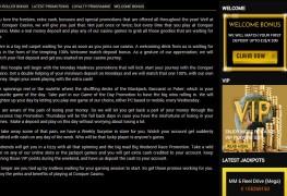 Conquer Casino MCPcom bonus