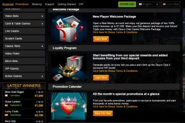Deuce Club Casino MCPcom bonus