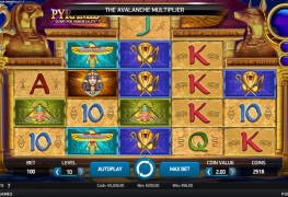 Pyramid: Quest for immortality Video Slot by Netent MCPcom