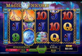 Magic Unicorn Video Slots by GameArt MCPcom