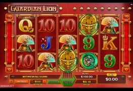 Guardian Lion Video Slots by GameArt MCPcom