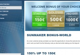 Sunmaker Casino MCPcom bonus