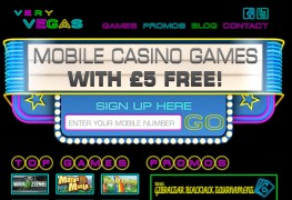 Very Vegas Mobile Casino MCPcom
