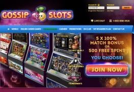 Gossip Slots Casino MCPcom