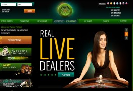 Celtic Casino MCPcom home