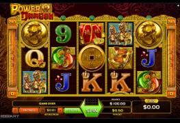 Power Dragon Video Slots by GameArt MCPcom