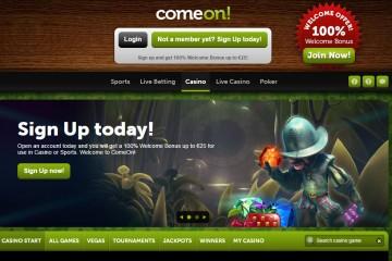 ComeOn Casino MCPcom