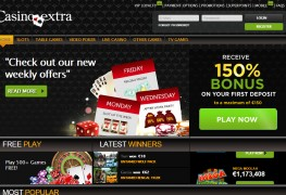 Extra Casino MCPcom home