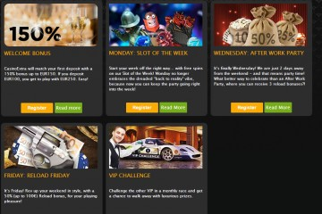 Extra Casino MCPcom bonus