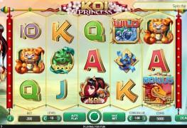 Koi Princess Video Slot by Netent MCPcom