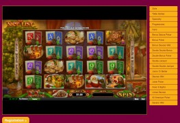 The Nice List Video Slots by Real Time Gaming MCPcom