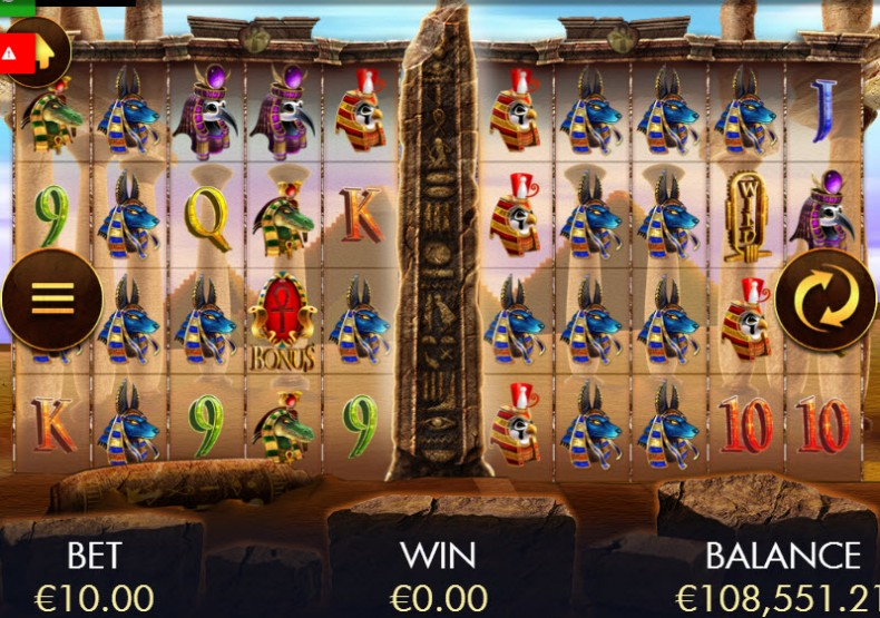 Temple of Luxor Video slots by Genesis Gaming MCPcom