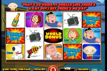 Family Guy Video slots by IGT MCPcom