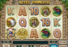 Aztec Princess Video Slots by Play'n GO MCPcom