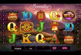 Serenity Video slots by Microgaming MCPcom