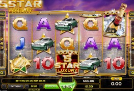 Five Star Luxury Video Slots by GameArt MCPcom