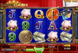 More Cash Video Slots by GameArt MCPcom
