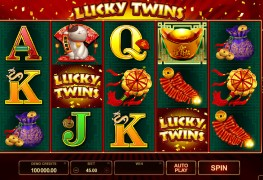 Lucky Twins Video slots by Microgaming MCPcom