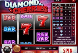 Diamond Cherries Classic slots by Rival MCPcom