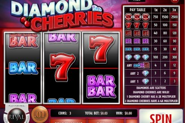 Diamond Cherries Classic slots by Rival MCPcom