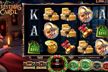 A Christmas Carol Video slots by BetSoft MCPcom