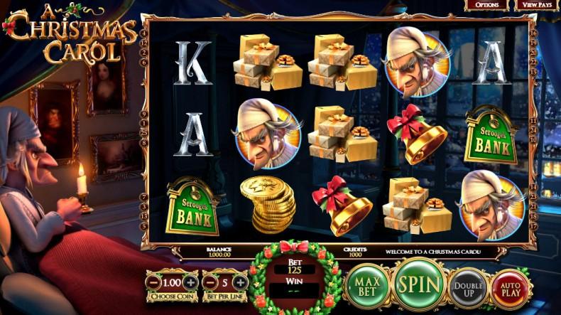 A Christmas Carol Video slots by BetSoft MCPcom