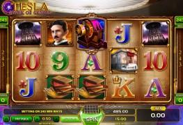 Tesla Video Slots by GameArt MCPcom
