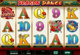 Dragon Dance Video slots by Microgaming MCPcom