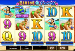 Bikini Party Video slots by Microgaming MCPcom