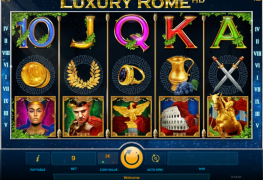 Luxury Rome HD Video slots by iSoftBet MCP.COM