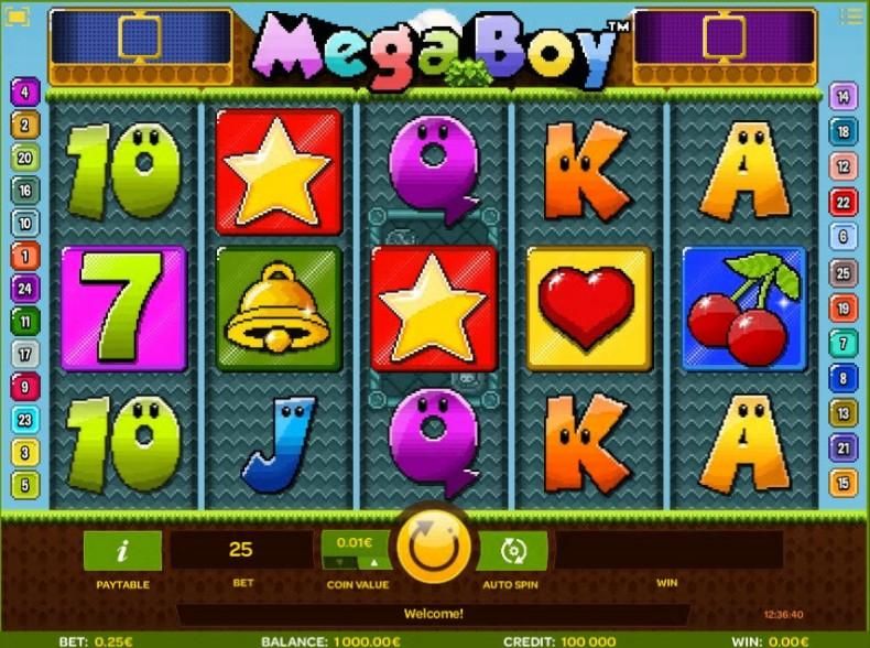 Mega Boy Video slots by iSoftBet MCPcom