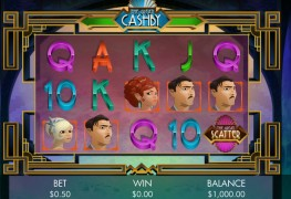 The Great Cashby Video slots by Genesis Gaming MCPcom