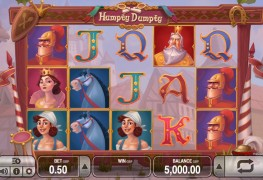 Humpty Dumpty Video slots by Push Gaming MCPcom