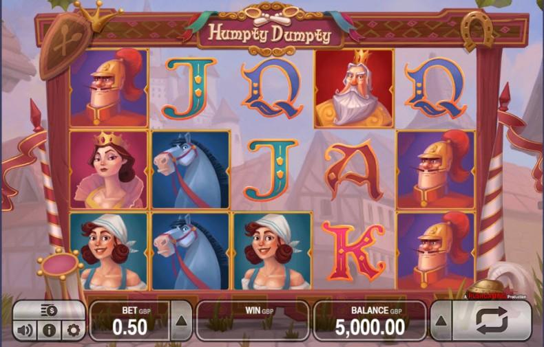 Humpty Dumpty Video slots by Push Gaming MCPcom