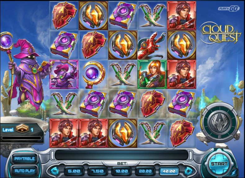 Cloud Quest Video Slots by Play'n GO MCPcom