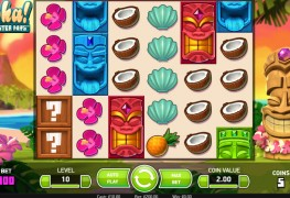 Aloha! Cluster Pays Video Slot by Netent MCPcom