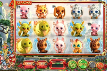 4 Seasons Video slots by BetSoft MCPcom