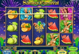 Samba Carnival Video Slots by Play'n GO MCPcom