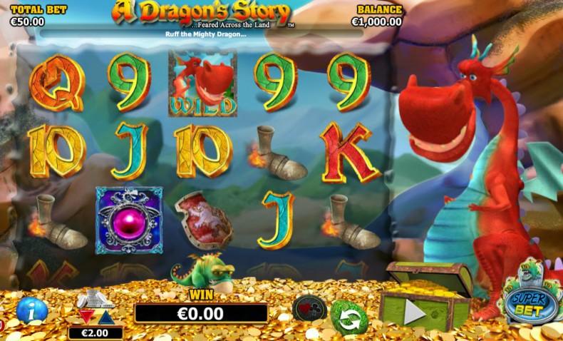 A Dragon Story Video slots by NextGen Gaming MCPcom