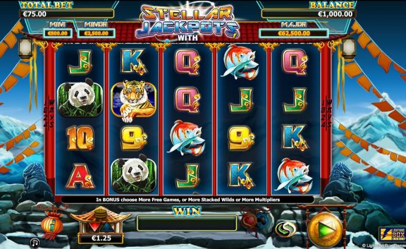 More Monkeys - Stellar Jackpot Video slots by Lightning Box Games MCPcom