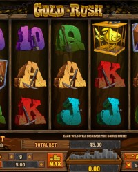Gold Rush Video Slots by Playson (Globotech) MCPcom