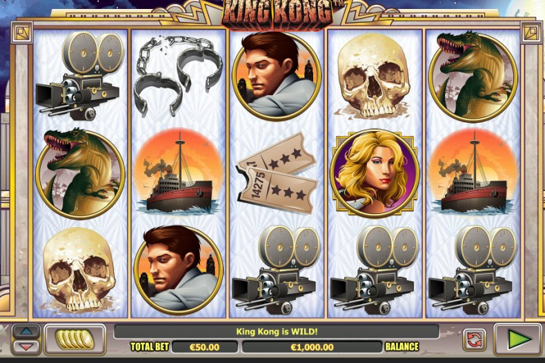 King Kong Video slots by NextGen Gaming MCPcom