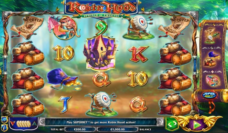 Robin Hood - The Prince of Tweets Video slots by NextGen Gaming MCPcom